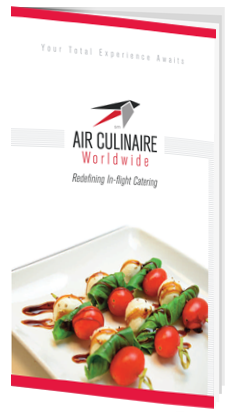 Air Culinaire Worldwide Menu Cover