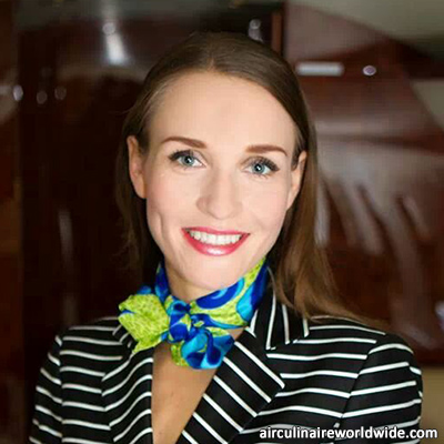 Irina Pashinina Contract Flight Attendant