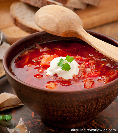 Food Origins Russian Borscht recipe