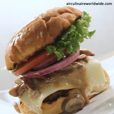 Gourmet House Burger