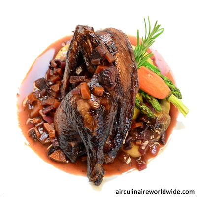 Cornish Hen Plating Video