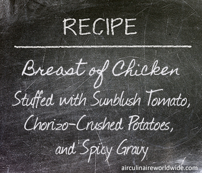 Stuffed Chicken Breast with Sunblush Tomatoes