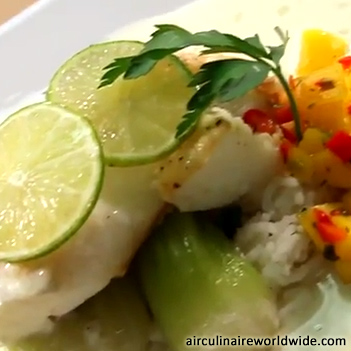 Sea Bass Plating Video