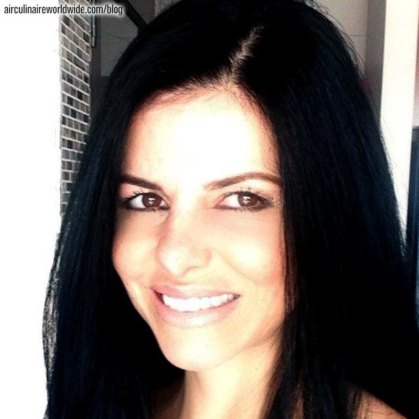 Hôtesse de l'air sur vols affaires - Maisa Farina