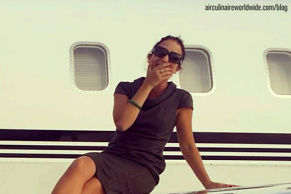 Eva Guasch Corporate Flight Attendant