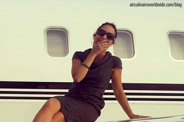 Eva Guasch Corporate Flight Attendant