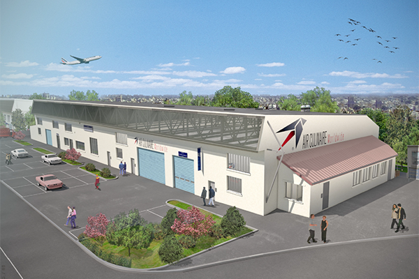 inflight catering paris new facility