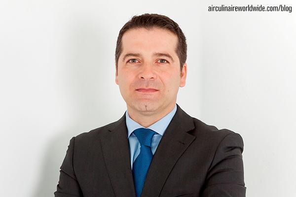 Corporate Flight Attendant Roberto Martinez