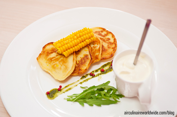 Summer Corn Pancakes
