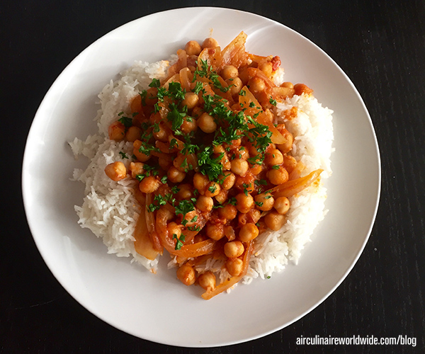 Gluten-Free Vegan Chickpeas Recipe