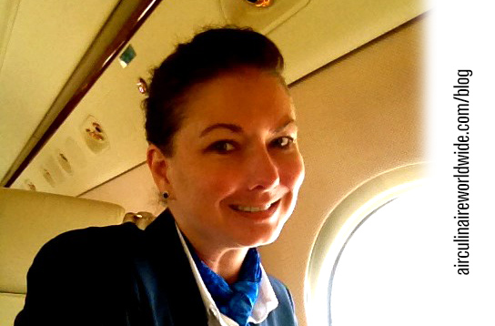 Corporate Flight Attendant Melanie Marsh