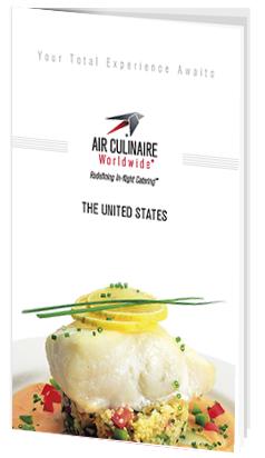 Air Culinaire Worldwide Menu Cover
