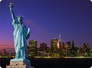 New York / New Jersey Evening Departure Menu