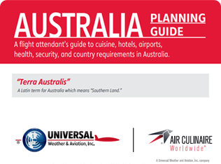 Australia Planning Guide for Corporate Flight Attendants