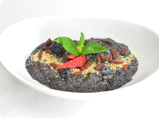 Black Açai Chia Bowl