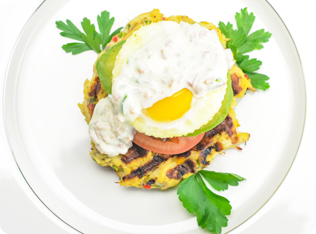 Crabcake Waffle Benedict