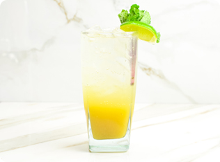 Ginger and Lime Shrub