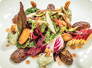 Modern New York Waldorf Salad