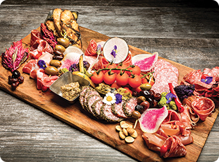 Signature Charcuterie Display
