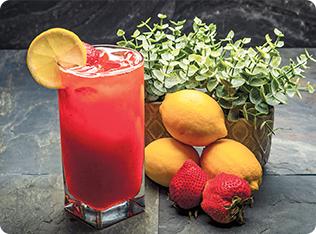 Strawberry or Blueberry Lemonade